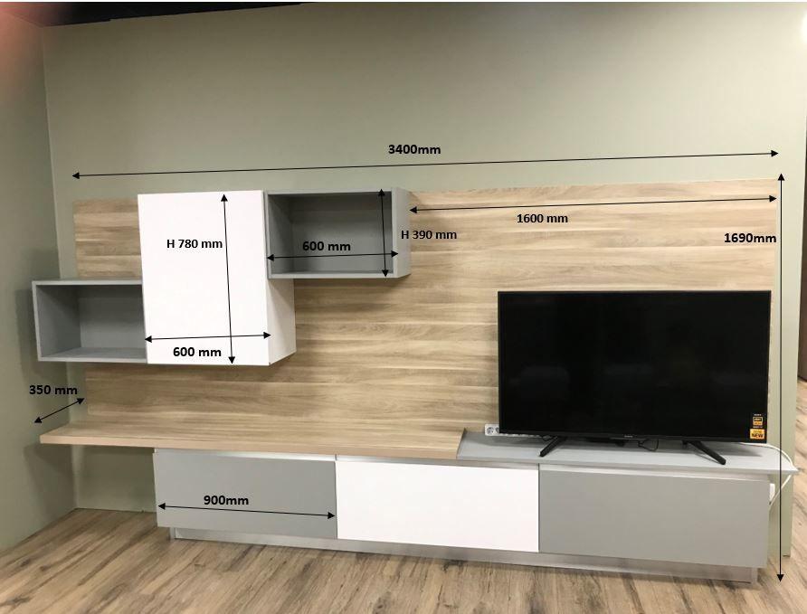 meuble TV de salon 1490 Annonay (07)