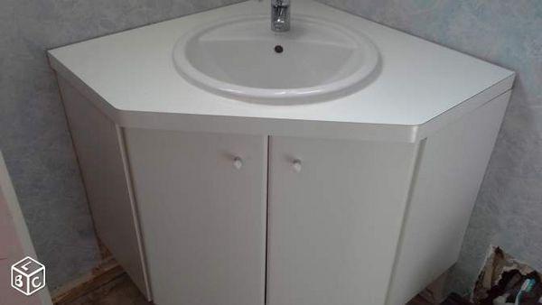 Achetez meuble sous vasque occasion annonce vente claye for Meuble sous vasque d angle