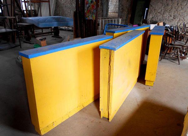 meuble structure en bois séparation bar cloison (l'unité) 50 Monflanquin (47)