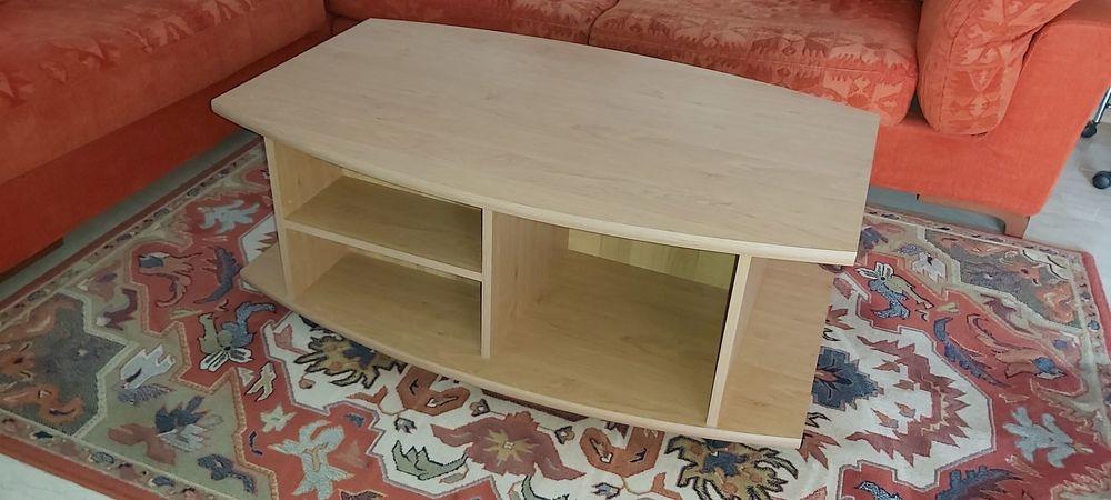 Meuble TV et table basse assortie en bois 40 Antibes (06)