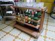 Meuble table chariot bar sur roulettes 1950/60 original  Monflanquin (47)