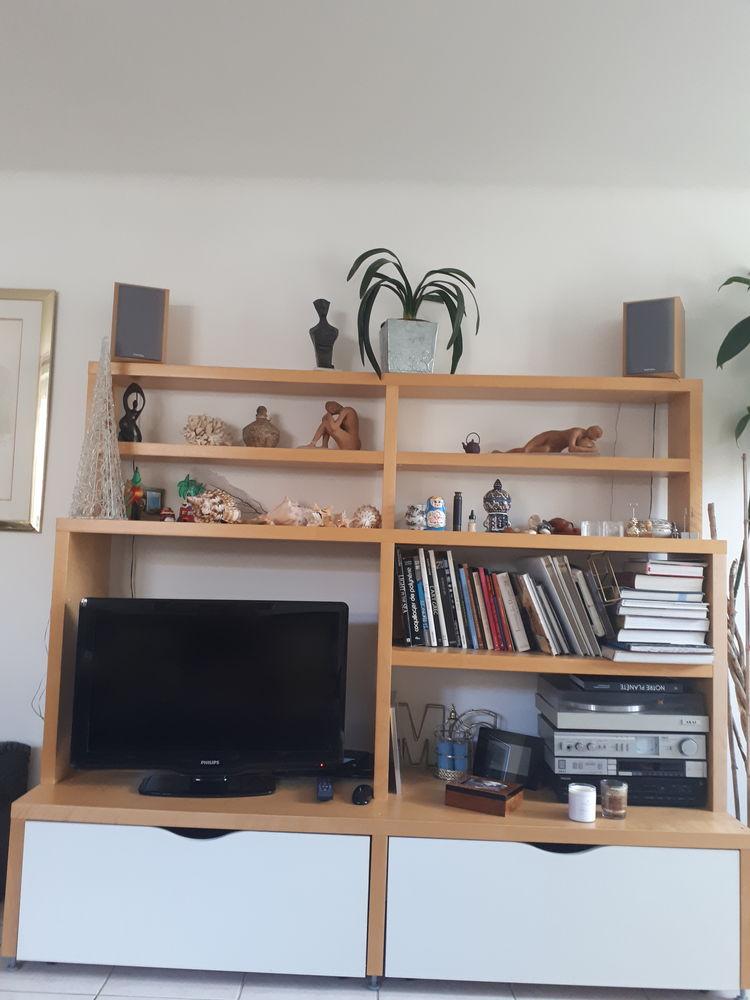 Meuble télé Bibliothèque avec 2 grands tiroirs pour CD  80 Vertou (44)