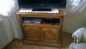 meuble télé en bois . 130 Sainte-Croix-en-Plaine (68)