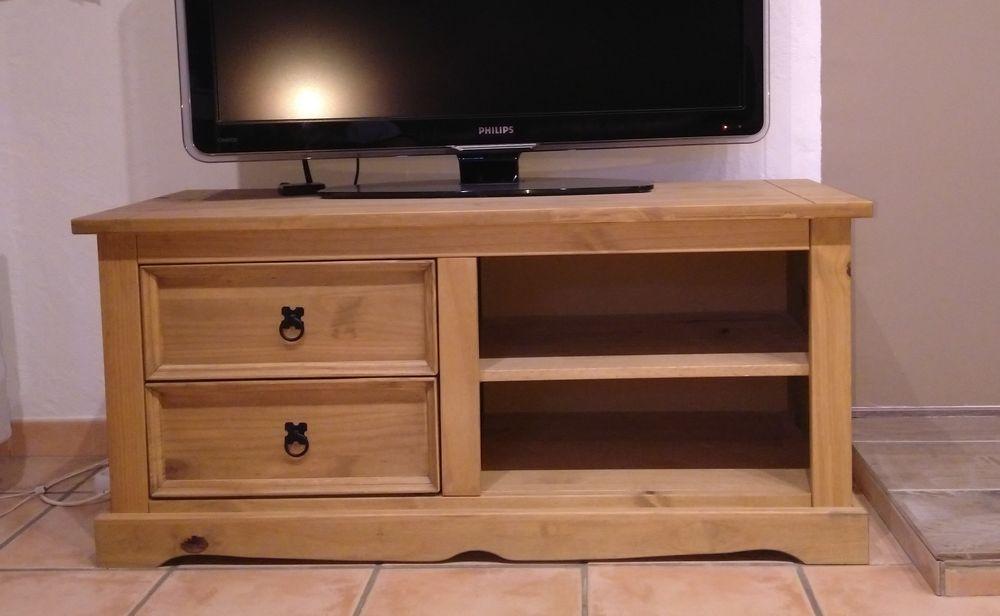 meuble télé bois naturel 100 Saint-Clair-du-Rhône (38)