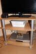 Meuble TV télé en bois - avec roulette -TOUJOURS DISPO