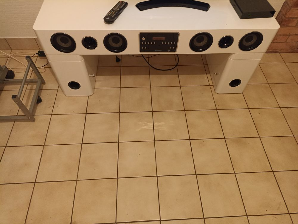 Meuble télé home cinéma bluetooth carte cd USB aux 170 Irodouër (35)