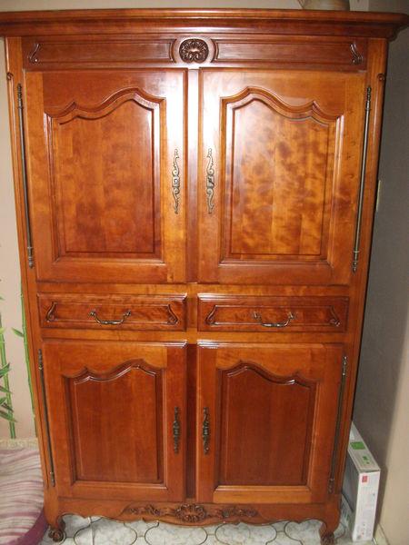 Achetez meuble t l merisier occasion annonce vente les couets 44 wb1498 - Meuble tele merisier ...