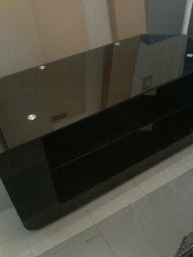 Meuble télé moderne noir brillant  120 Tourcoing (59)