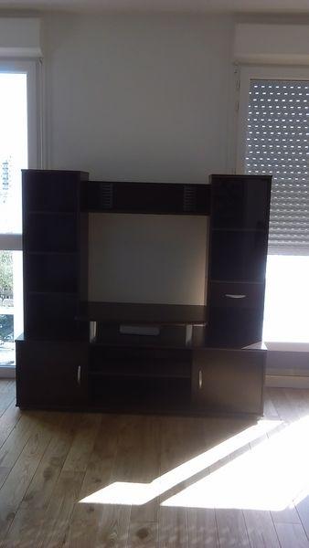 Meuble télé noir 38 Montreuil (93)
