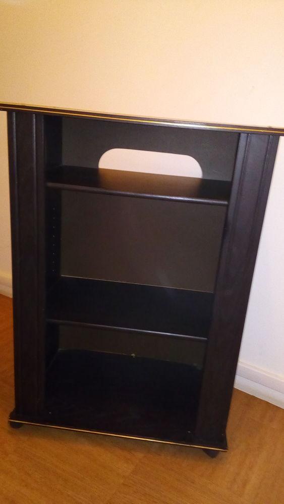 Achetez meuble t l noir occasion annonce vente paris for Meuble tele noir