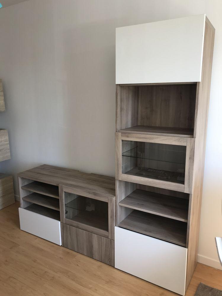Meuble télévision + colonne de rangement IKEA   130 Vert-le-Petit (91)