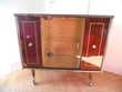 Meuble télévision laqué 1960 Design Neuf