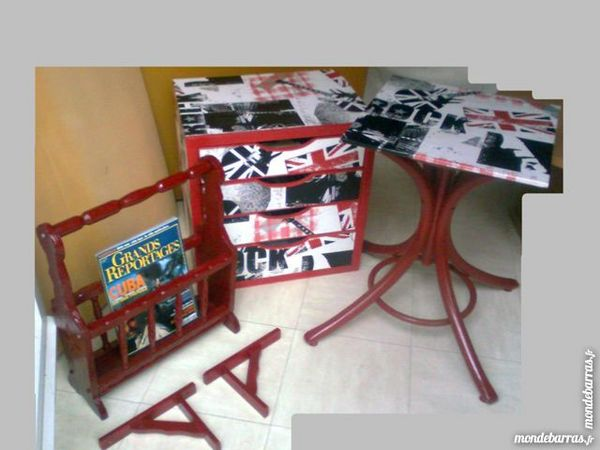 meuble 4 tiroirs,table,pte revues, étag. -zoe 20 Martigues (13)