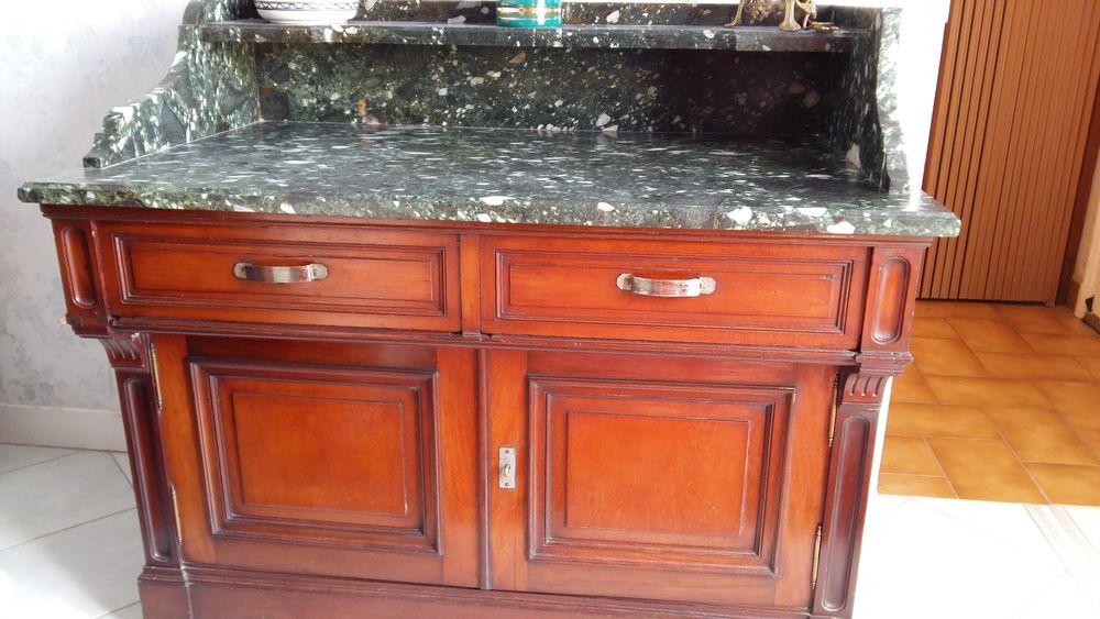 Achetez meuble toilette occasion annonce vente pernon for Meuble ancien avec marbre