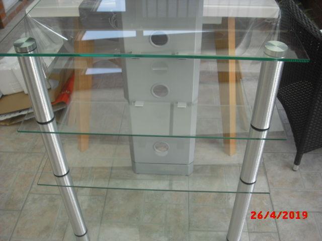 meuble TV transparent 80 Monchaux-sur-Écaillon (59)