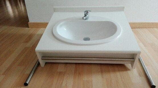 Meuble vasque salle de bain 40 Arras (62)