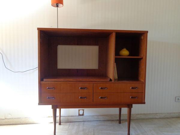 meuble tv vintage commode scandinave teck meubles - Meuble Tv Scandinave Doccasion