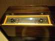 Meuble vintage radio phono à lampes Grundig