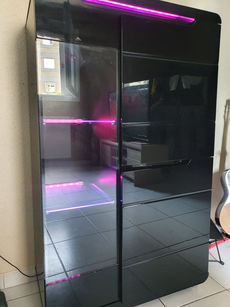 Meuble vitrine à LED 100 Nîmes (30)