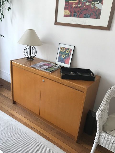 meuble bas en pin 50 Chatou (78)