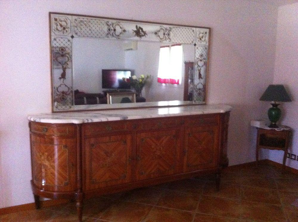 meubles bois de roses  avec marbre + miroir 250 Carros (06)