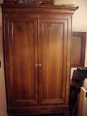 Lot meubles de chambre : armoire + commode + table de chevet 200 Ampus (83)