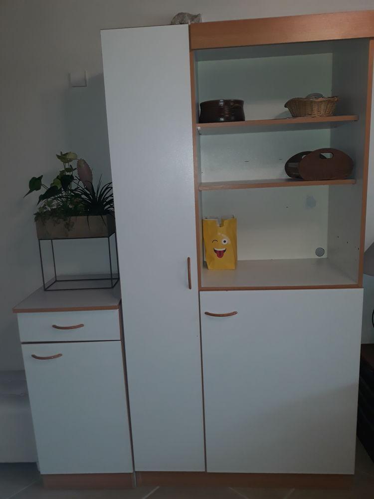meubles cuisine blanc 50 Poligny (77)