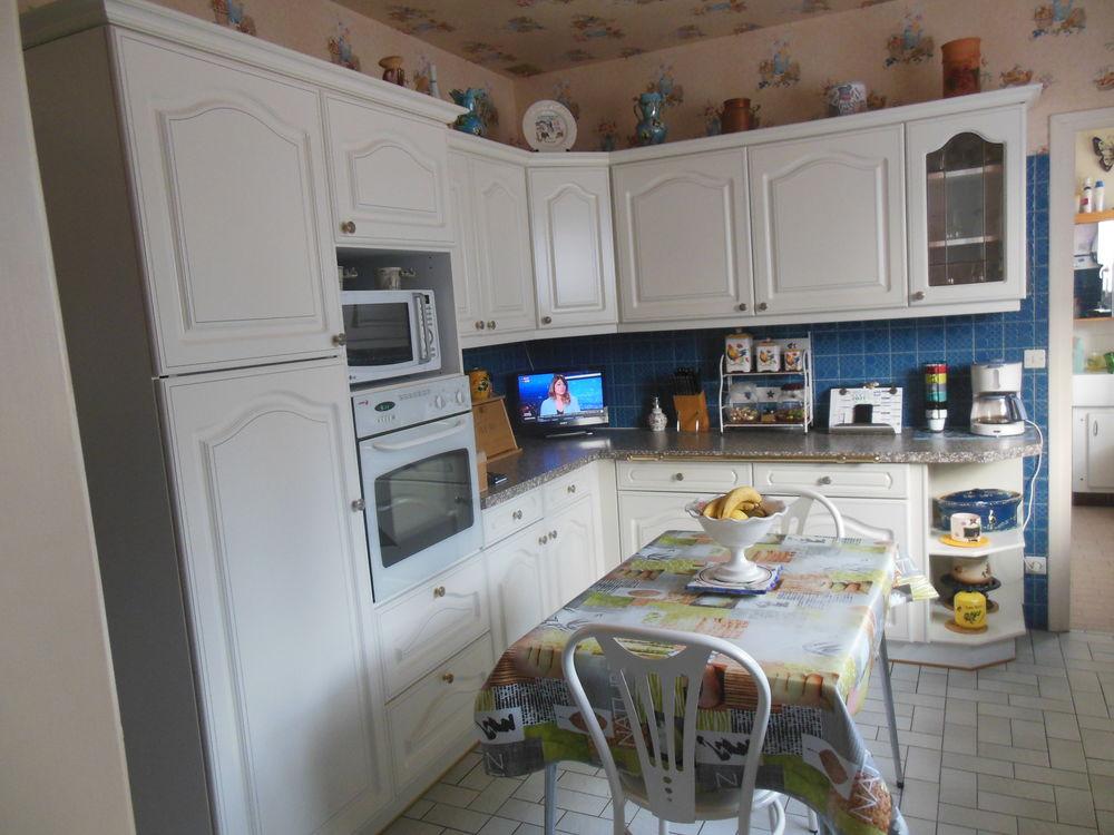 Meubles de cuisine couleur blanc. Peut être vendu séparément Occasion Meubles