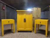 4 meubles jaunes  CHINA POP   MAISON DU MONDE 0 Noisiel (77)