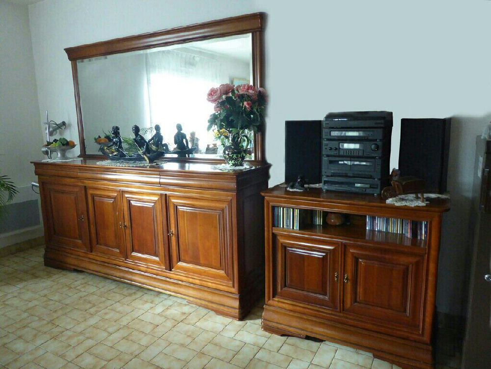 meubles en merisier salle a manger,bibliotheque, armoire 0 Ste Marie (44)