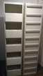 2 Meubles métalliques gris KR à clapets 10 Cases