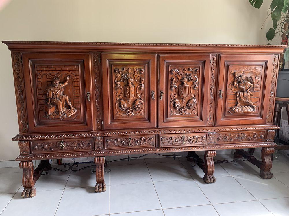 meubles renaissance espagnole 500 Villefontaine (38)