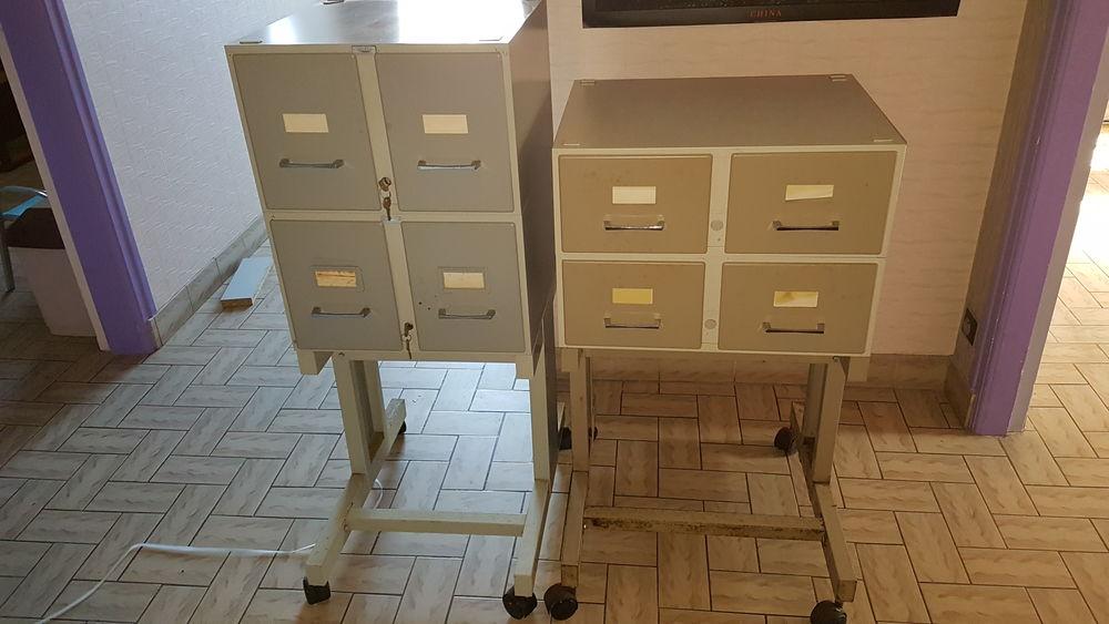 Lot de 2 meublesFichiers tout métal VINCO  60 Vannes (56)