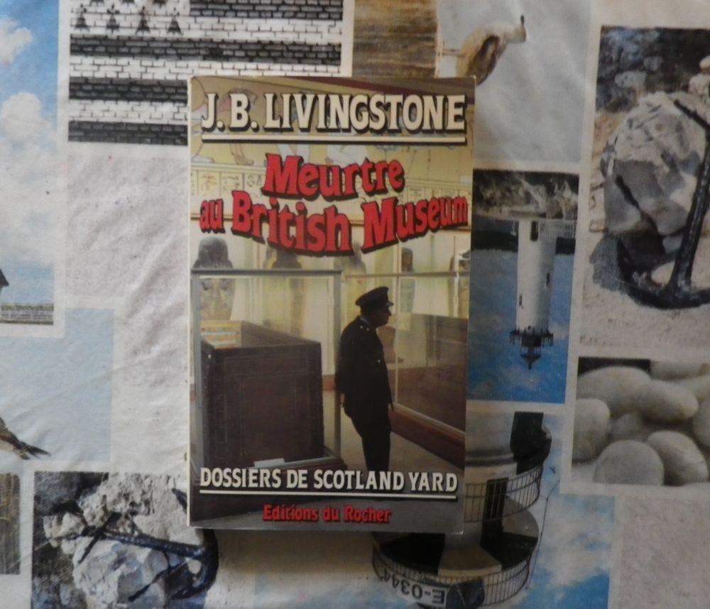 MEURTRE AU BRITISH MUSEUM de J.B. LIVINGSTONE 4 Bubry (56)