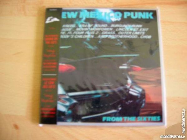 CD NEW MEXICO PUNK from the Sixties 12 Nantes (44)