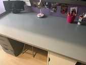 Lit mezzanine 90x200 IKEA en métal  100 Versailles (78)