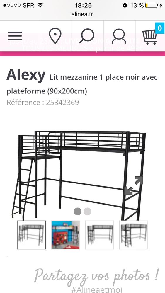Lit Mezzanine Alexy Alinéa 1 Place