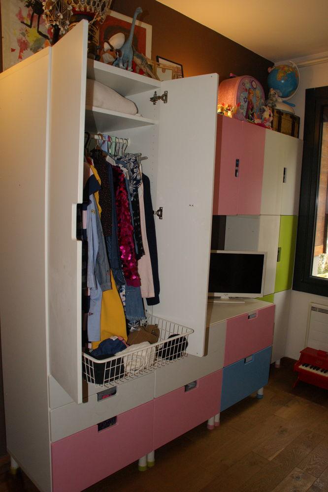 Lit mezzanine + bureau avec armoire  500 Saint-Nazaire-les-Eymes (38)