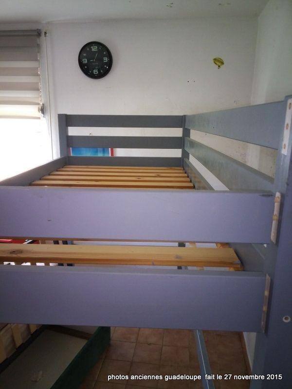 lit mezzanine + bureau enfant 90 Petit-Bourg (97)
