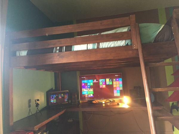 achetez lit mezzanine bureau occasion annonce vente la br de 33 wb149771574. Black Bedroom Furniture Sets. Home Design Ideas
