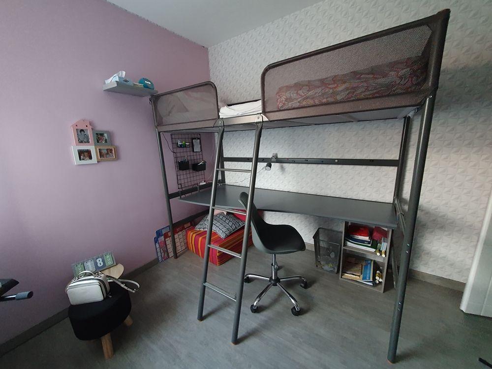 Lit Mezzanine + Bureau 185 Les Couets (44)