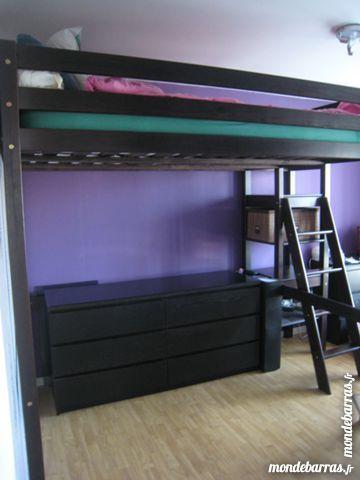 lits mezzanine occasion lille 59 annonces achat et vente de lits mezzanine paruvendu. Black Bedroom Furniture Sets. Home Design Ideas