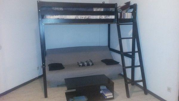lits mezzanine occasion clermont ferrand 63 annonces achat et vente de lits mezzanine. Black Bedroom Furniture Sets. Home Design Ideas