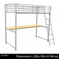 lit mezzanine bureau conforama d occasion. Black Bedroom Furniture Sets. Home Design Ideas