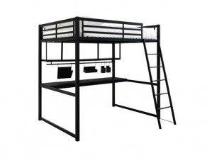 Achetez lit mezzanine enfant occasion annonce vente - Lit mezzanine 140 avec bureau ...
