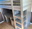 Lit mezzanine, lit gain de place 90x200 Meubles