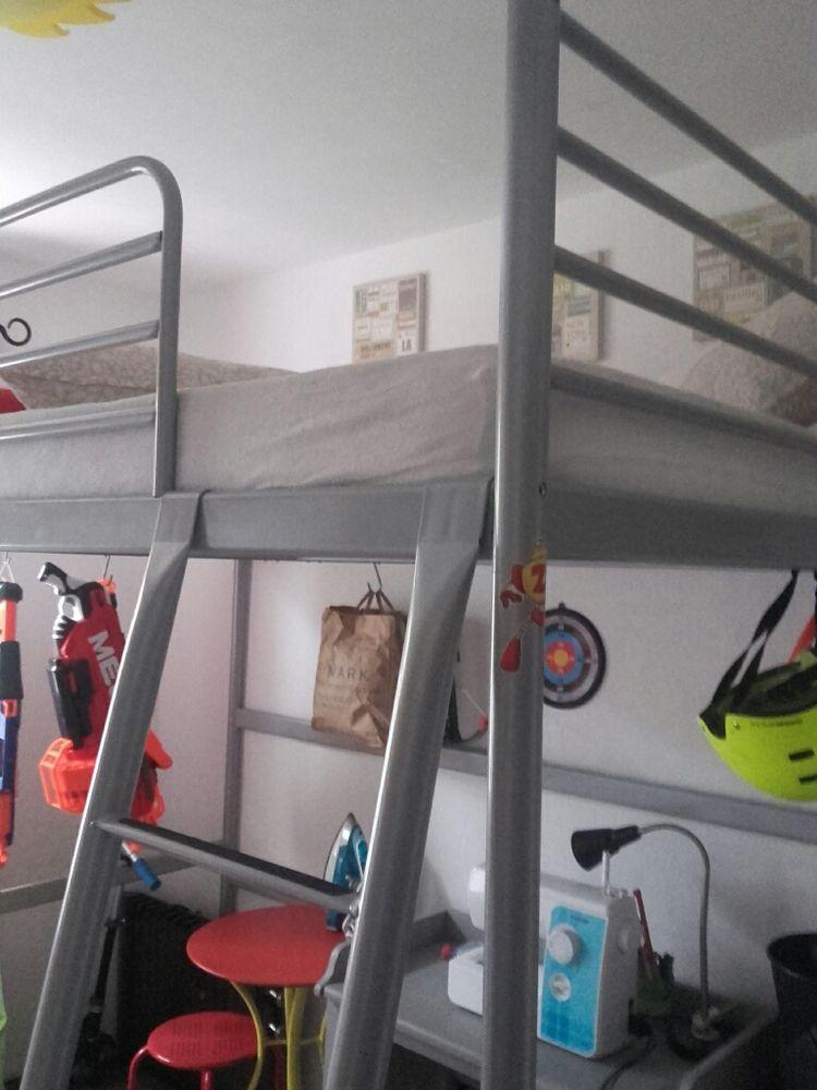 Achetez lit en mezzanine quasi neuf annonce vente le lavandou 83 wb15741 - Matelas pour lit mezzanine ...