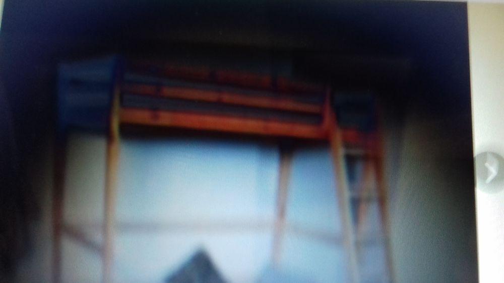 lit mezzanine haut de gamme en pin massif  120 Aubagne (13)