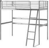 Lit mezzanine alu IKEA SVARTA, métal gris 40 Saint-Fargeau-Ponthierry (77)