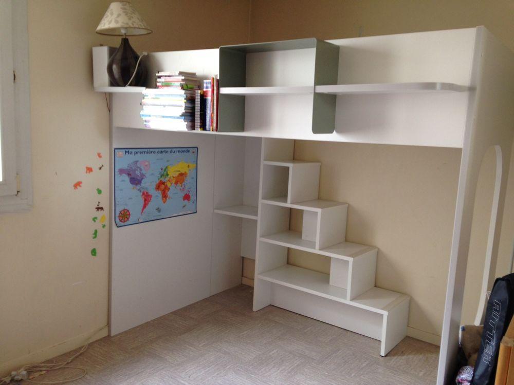lits mezzanine occasion paris 75 annonces achat et. Black Bedroom Furniture Sets. Home Design Ideas